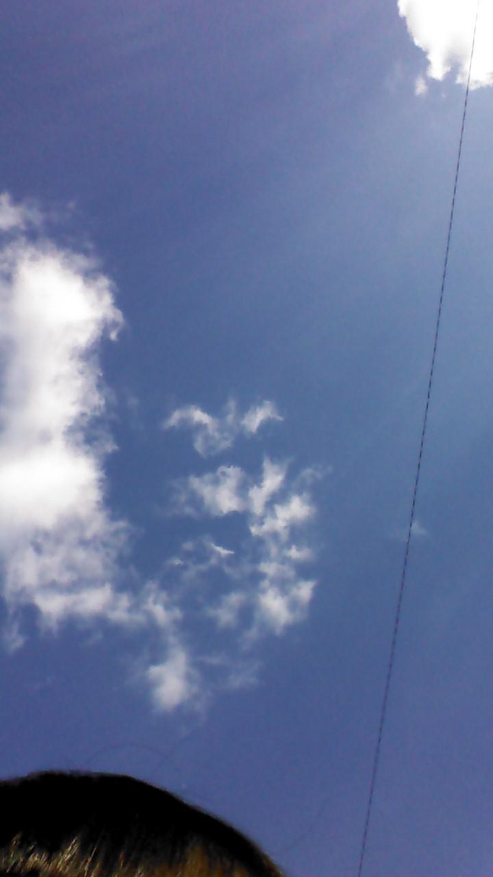 写真 青空 雲 20141123_1357