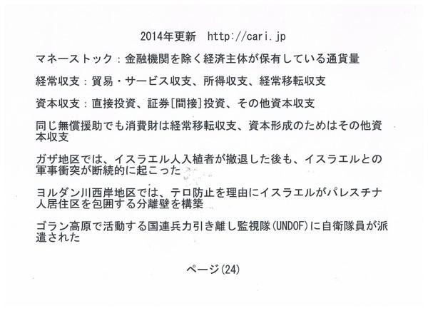 P24 2014 社会科 経済 中東 雑学 w600