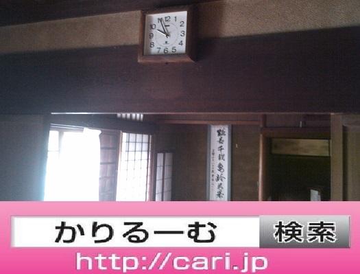 2016/09/11(10:03:08) 屋内写真 掛け時計